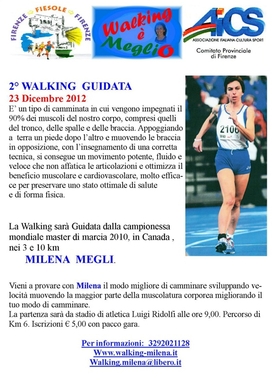 Seconda walking guidata