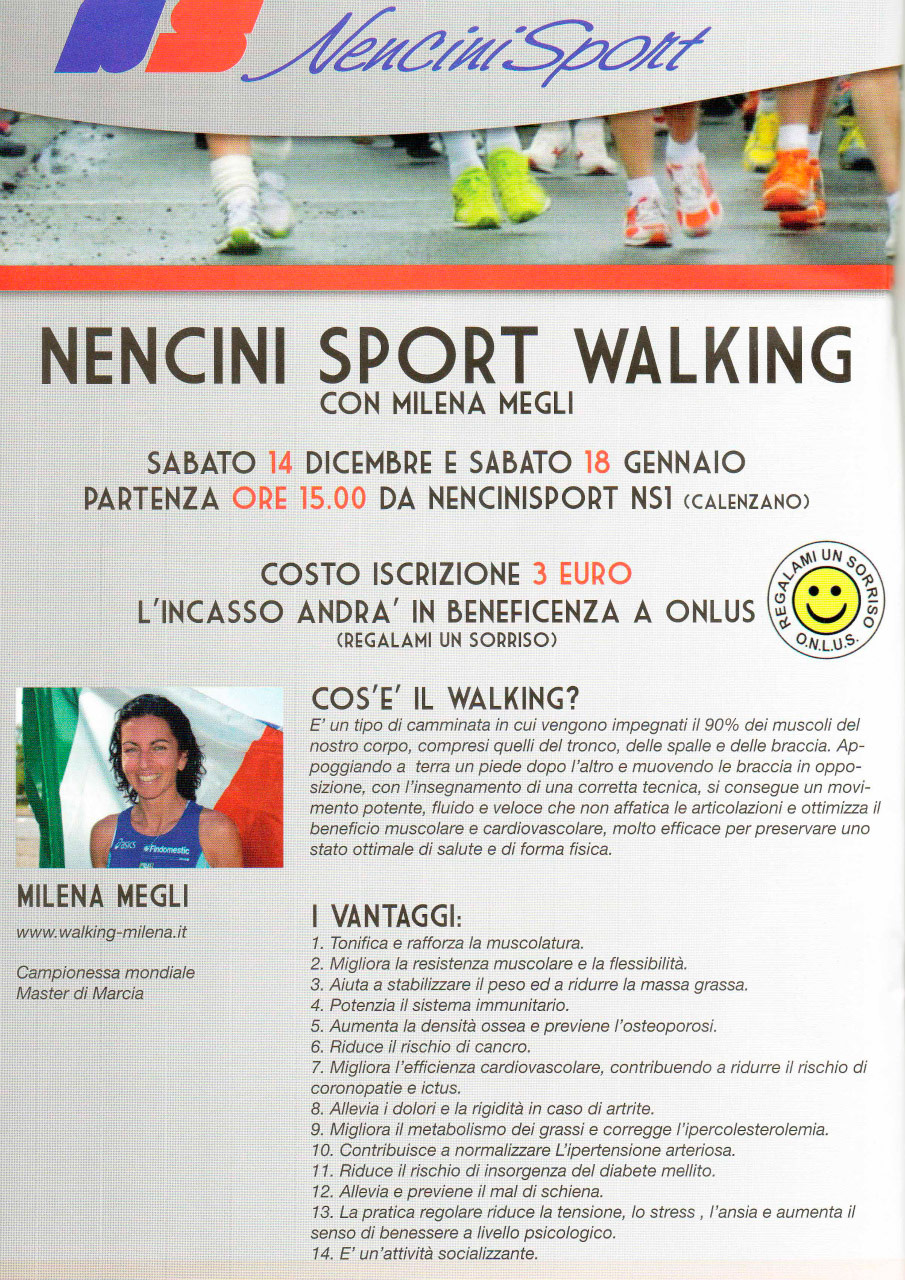 Nencini Sport walking