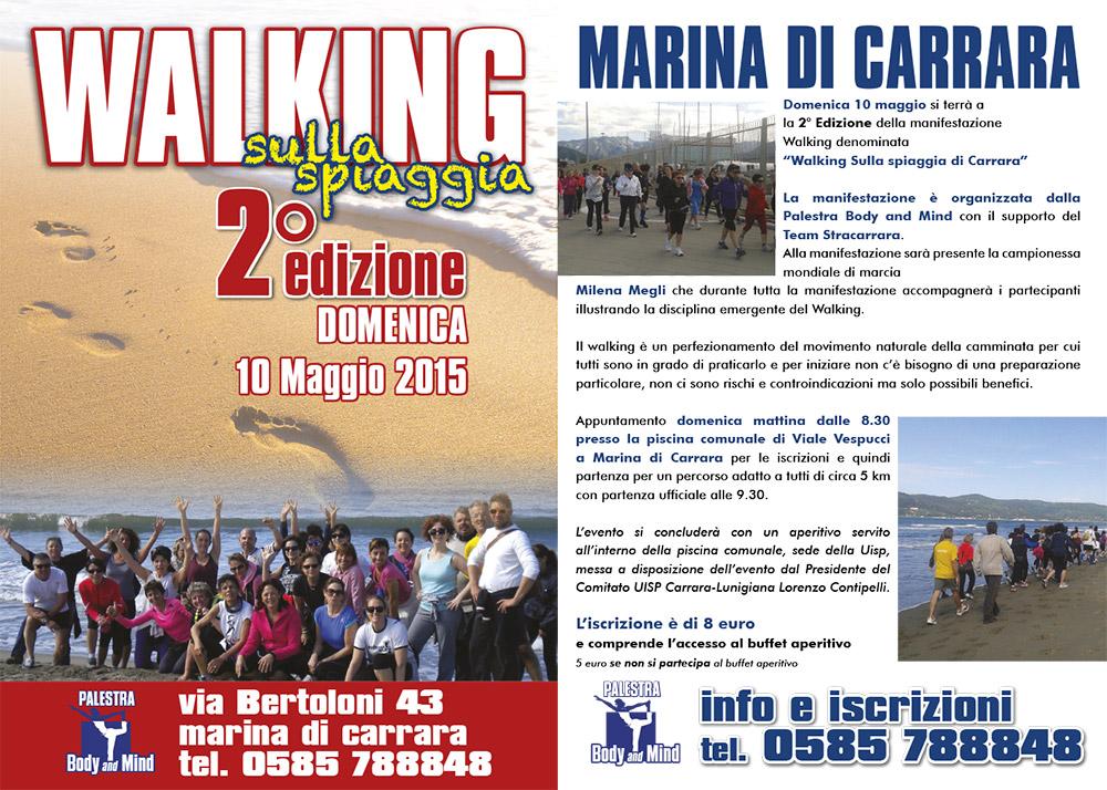 Walking sulla spiaggia 2a edizione