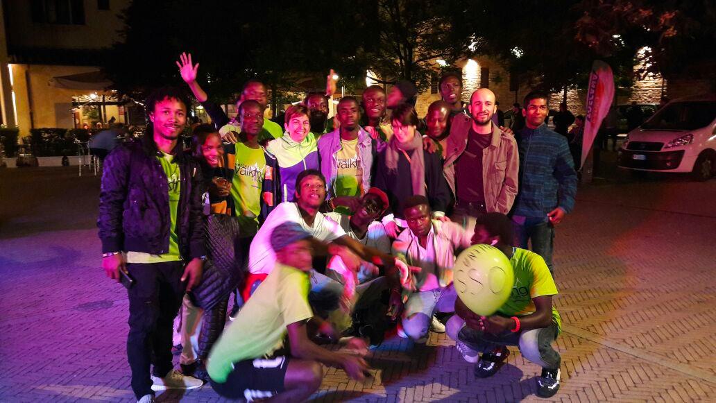 a Firenze la prima squadra di podisti formata da migranti