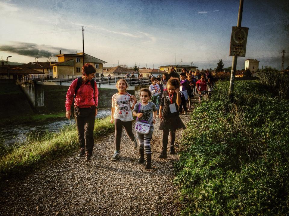 come praticare walking con i bambini