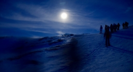 4° Walking sulla neve con la Luna Piena