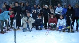 Walking sulla neve – Madonna dell'Acero-Cascate del Dardagna Marzo 2015