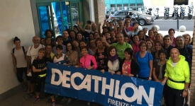 """Walking On"" Decathlon Novoli-Lastra a Signa-Sesto Fiorentino"